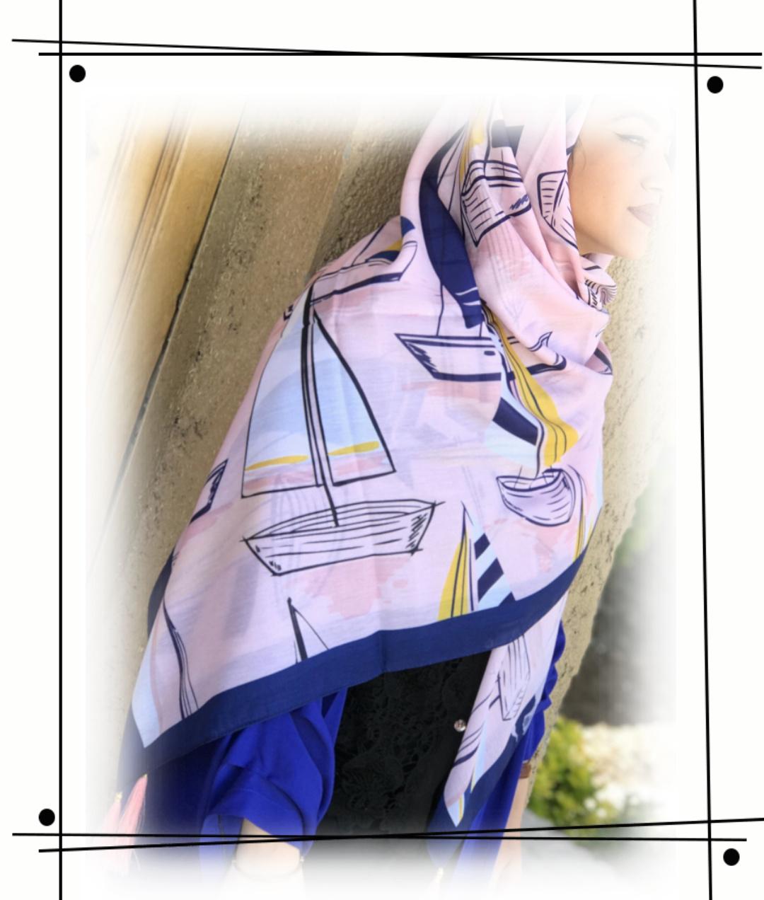روسری زیبا با طراحی خاص